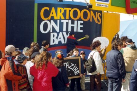 Cartoons on the bay